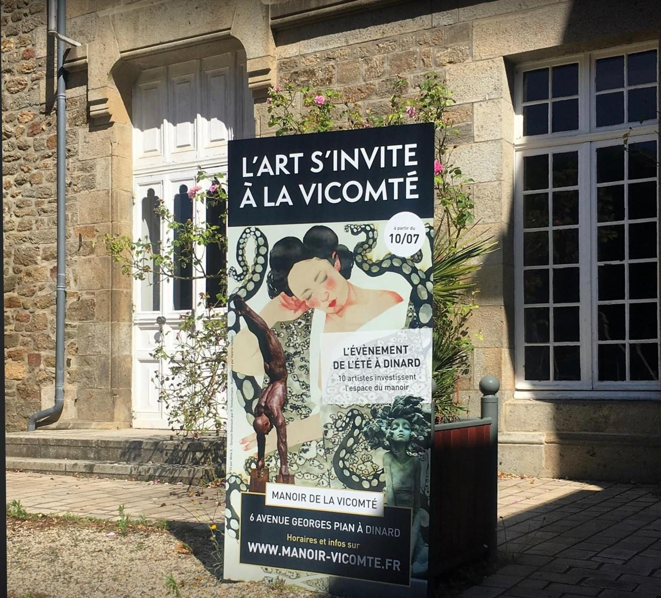 Exposition d'art à Dinard